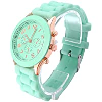 OFTEN Popular Silicone Quartz Men Women Girl Boy Unisex Jelly Wrist Watch Cheap Gift