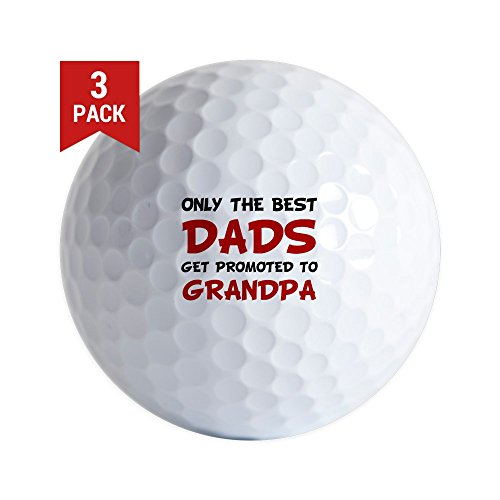 e3dfa89b CafePress - Promoted Grandpa Golf Ball - Golf Balls (3-Pack), Unique ...