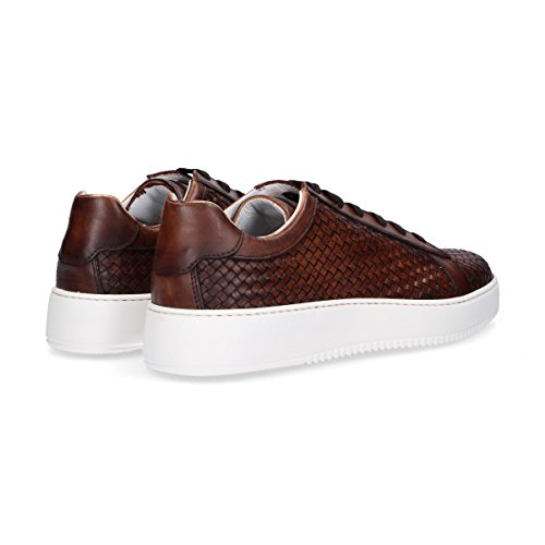 Botticelli Lu35605720 Lederen Roberto Mannen Bruine Sneakers PkiuOZwXT