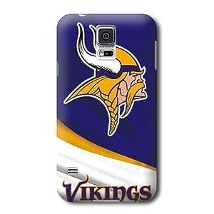 Allan Diy S5 case cover, NFL - Minnesota Vikings - Samsung Galaxy S5 case cover wRroglzRXIj - High Quality PC case cover