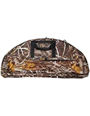 LIOOBO Compound Bow Case Camouflage Bow Bag Large Capacity Compound Bow Carry Bag Tote Bag
