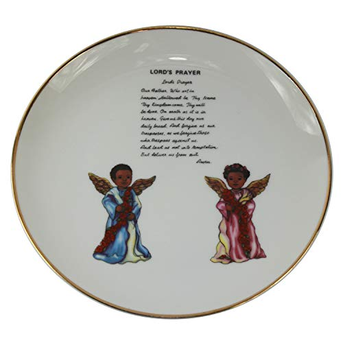 Connie N Randy The Lord's Prayer Decorative Plate
