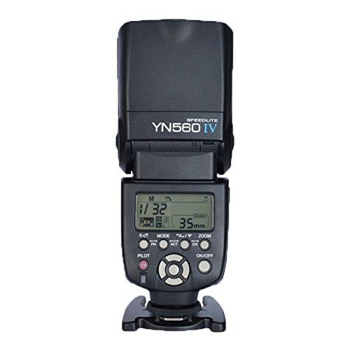 Yongnuo YN-560IV(560III upgrade version,a Combination of YN-560 III and YN560-TX all functions) 2.4G Wireless Flash Speedlite Trigger Controller for Canon Nikon Olympus Pentax
