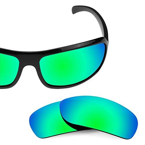 Verres de rechange pour Smith Super Method — Plusieurs options Polarisés Elite Rogue Vert MirrorShield®
