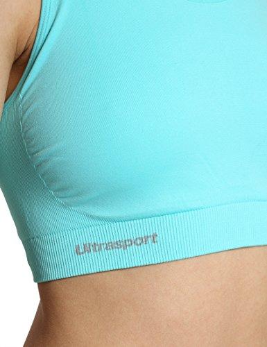 Spalline da Funzionale Schiena Impact Ultrasport Medium Sportivo Donna Sulla Top Blu Incrociate xqpw0WaSR