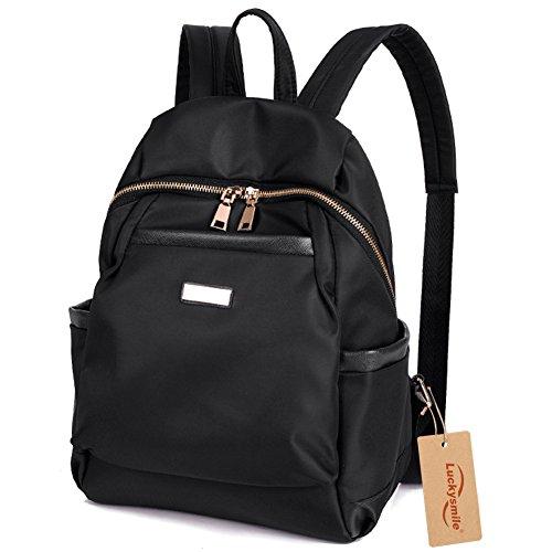Amazon.com   Luckysmile Women Girls Casual Nylon Backpack Purse ...