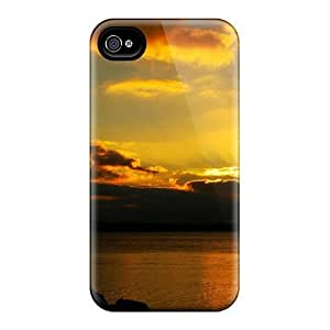 High Quality Shock Absorbing Case For Iphone 4/4s-peaceful Ending