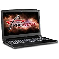 "PROSTAR Clevo Gaming Laptop N855HJ 15.6"" Full HD (1920x1080) Matte Type Display, Intel Core i7-7700HQ, 32GB DDR4, GTX 1050, 1TB HDD, Windows 10 Home, Wi-Fi+Bluetooth, 1-Year Warranty"
