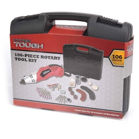 Hyper Tough 106 Piece Rotary Tool Kit by BLOSSOMZ