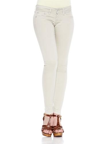 Pepe Jeans Skittle - Vaqueros con Slim fit para mujer Topo