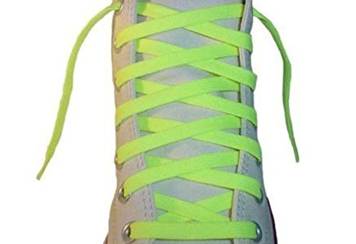 Shoe Bowling Yellow (Neon Yellow 54 inch Shoe Laces)