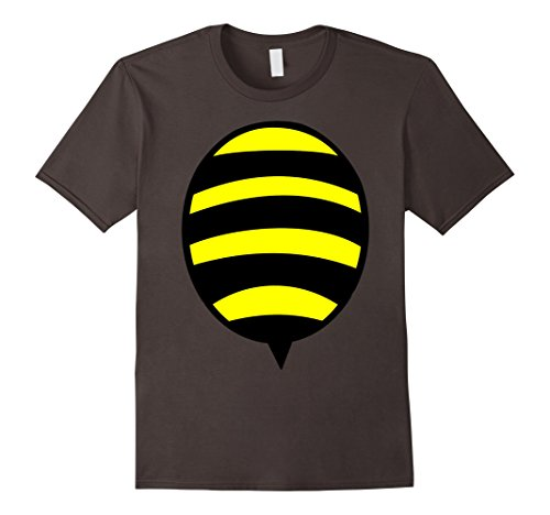 Mens Bumble Bee Costume T-Shirt Cute Honeybee Bumblebee Gift XL Asphalt (Cute Bumble Bee Costumes)