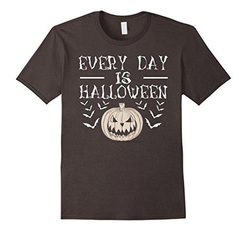 Mens Every Day Is Halloween T-shirt Medium Asphalt