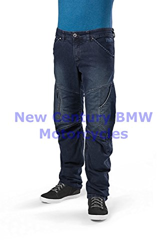 BMW Genuine Motorcycle Men City Denim Riding Pants Denim US 42 Euro 52