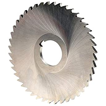 "5 x 1//8 x 1/"" HSS Plain Metal Slitting Saw"