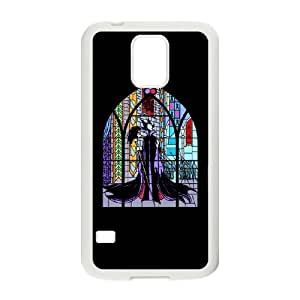 Exquisite stylish phone protection shell Samsung Galaxy S5 Cell phone case for disney Stained glass pattern personality design
