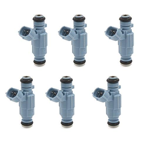 6 New Fuel Injectors (6 x New Genuine Fuel Injector Set for 99-06 Kia Hyundai 2.4L 3.5L)