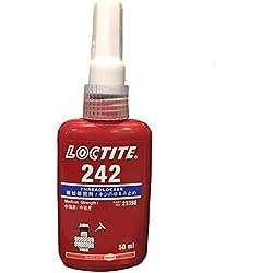 Henkel Loctite 242 Nut & Bolt Threadlocker, 50mL
