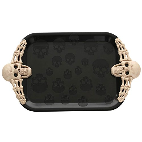Seasons Skull Serving Tray