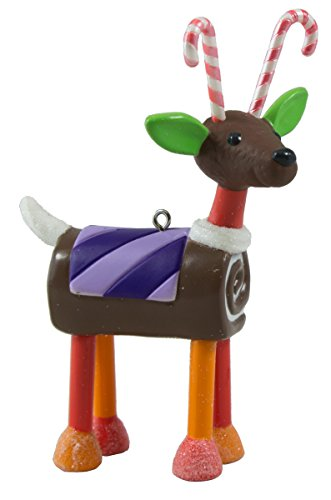 (Hallmark Ornament Santa's Sweet Reindeer Limited Edition 2016)