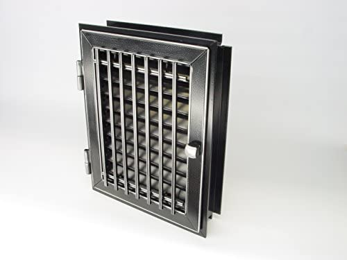 De ventilación de aire caliente rejilla de tubo puerta horno de ...
