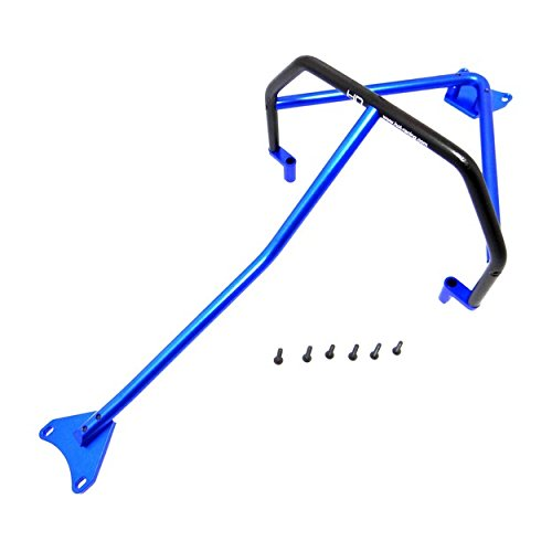 Hot Racing LCF11206 Blue Aluminum Inner Roll Cage Lcg Slash 4x4 or ()