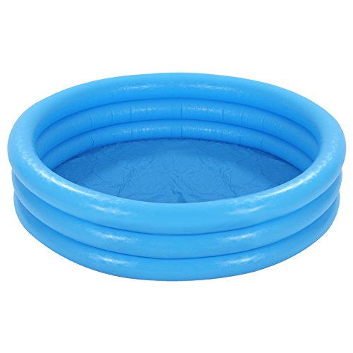 Intex 58446np piscine gonflable vinyle bleu cristal for Piscine intex amazon