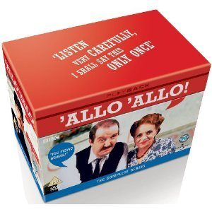 Allo Allo! (Complete Collection - Series 1-9) - 16-DVD Box Set ( Allo 'Allo! (84 Episodes) ) [ NON-USA FORMAT, PAL, Reg.2 Import - United Kingdom - Cooke Vicki
