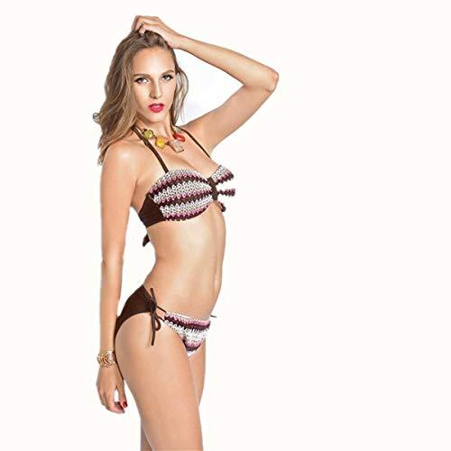 Fuweiencore bikini Dimensione Stile L Bikini colore Donna Europeo rzHrSUAnx