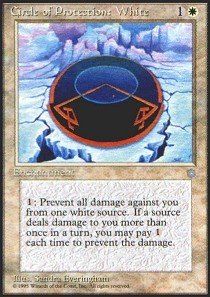 Magic: the Gathering - Circle of Protection: White - Ice Age