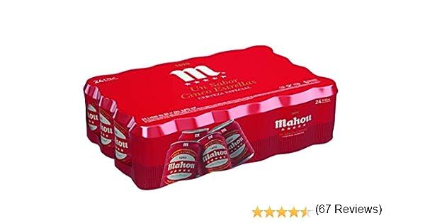 Mahou 5 Estrellas Cerveza Dorada Lager, 5.5% de Volumen de Alcohol - Pack de 24 x 33 cl: Amazon.es: Amazon Pantry