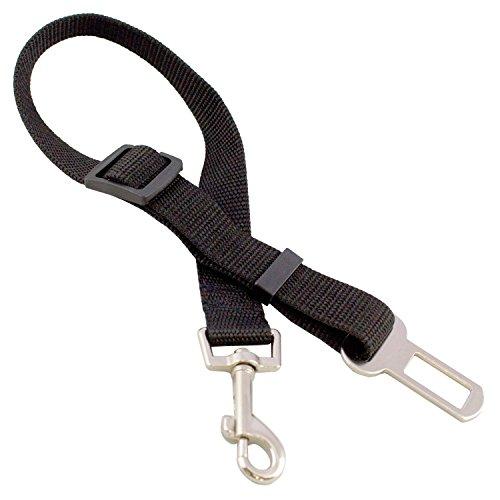 Hunde Adapter für Autosicherheitsgurt . Auto Hundegurt verstellbar von 40 bis 60 cm 4913