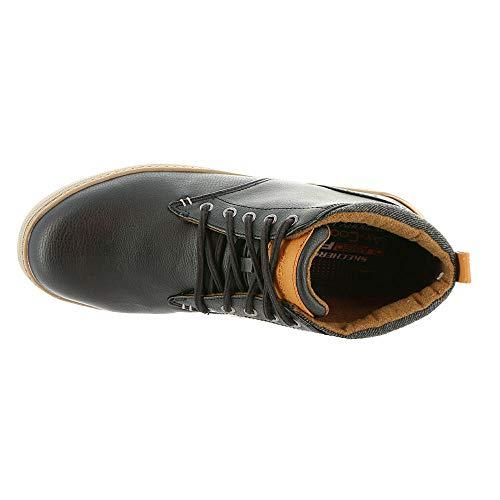 Scarpe Black Noir Rolven Sportive 65273BLK Skechers Helmer gZqwI