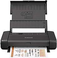 Canon Impresora portátil inalámbrica PIXMA TR150 con Airprint y Cloud Compatible, Impresora, Negro, Una Talla