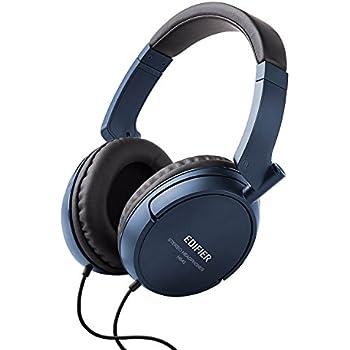Edifier H840 Audiophile Over-The-Ear Headphones - Hi-Fi Over-Ear  Noise-Isolating Closed Monitor Music Listening Stereo Headphone - Blue 067250ebe4