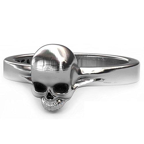 Evbea Ring Skull Rose