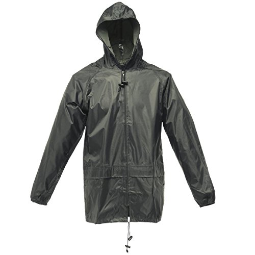 Stormbreak impermeabile antivento prestazioni giacca da uomo Regatta Verde oliva scuro XXL