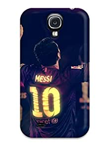 Fashion AfHYSDr26656heSnW Case Cover For Galaxy S4(lionel Messi Supercup)