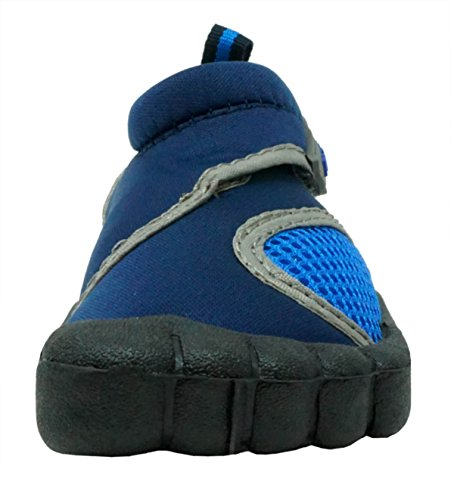 Image of Fresko Toddler Water Shoes for Boys and Girls, T1031, Navy, 9 M US Toddler