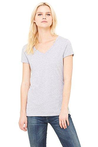 (Bella+Canvas 6005 - Ladies' Short Sleeve V-Neck Jersey T-Shirt)