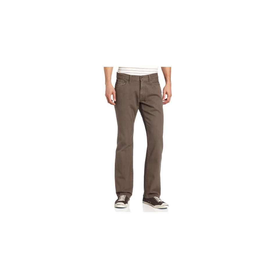 Lucky Brand Mens 221 Original Straight In, Charcoal Grey, 30