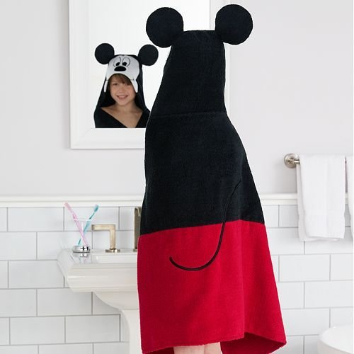 Disney Mickey Mouse Hooded Bath Wrap