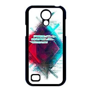 caso i9190 Skrillex O2E37B6ZP funda Samsung Galaxy S4 Mini funda 4650QP negro