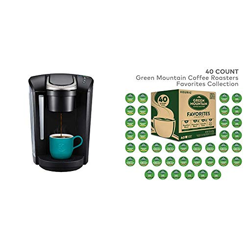 Keurig K-Select Single Serve K-Cup Pod Coffee Maker & Green Mountain Favorites Collection, 40 Count