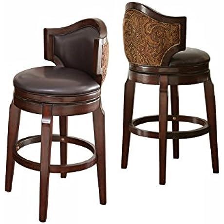Steve Silver Company Jasper Bar Chairs Set Of 2