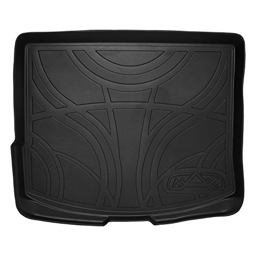SMARTLINER All Weather Cargo Trunk Liner Floor Mat Black for 2013-2019 Ford Escape / 2015-2019 Lincoln MKC