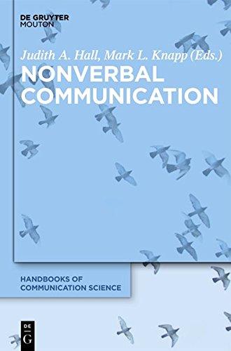 Nonverbal Communication (Handbooks of Communication Science)