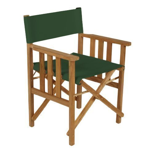 Gardenista Green Replacement Waterproof Cover for Directors Chair