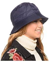 bd7a5d88759 Adjustable Waterproof Bucket Rain Hat in Nylon