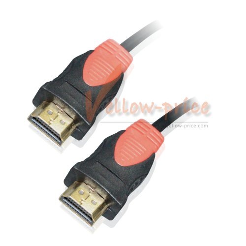 YellowKnife (TM) 50FT (15M) Gold plated HDMI M/M Cable Version 1.4 1080P, PS3, Blu-Ray, Dvd, Xbox 360 ()